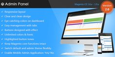 This is a theme which helps you to improve the default Magento admin panel. Magento Admin Theme was designed with 9 colors skin, floating effects, lightly..