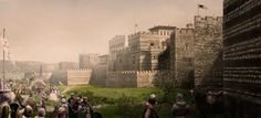 <strong>BLACHERNAE PALACE CONSTANTINOPLE</strong>