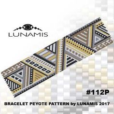 PATTERN ONLY. Create this beautiful peyote cuff bracelet.  Miyuki Delica Beads size 11/0 5 bead colors. 30 bead columns by 93 bead rows. Width: 1.6 (4,0 cm) Length: 6.4 (16,2 cm)   Patterns include: - Large colored numbered graph paper (and non-numbered in another files) - Bead legend (numbers and names of delica beads colors ) - Word chart - Pattern preview  This pattern is intended for users that have experience with even count peyote and the pattern itself does NOT include instruction...