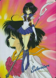 I always thought Sailor Saturn had the coolest weapon in the series. But now that I've grown older, I've returned to liking Jupiter a lot more again... :[