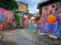 Vila Madalena - artsy neighbourhood in sao paulo - great shops and restaurants