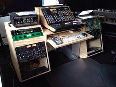 19 inch Audio Rack in Radiplex met matte lak