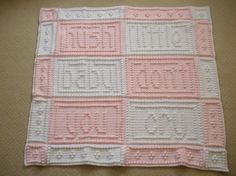 Crocheting: HUSH Blanket