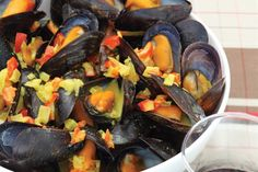 Recipes: Cottage-style grilled mussels and Canadian curried mussels from Mussels, by Alain Bosse and Linda Duncan.