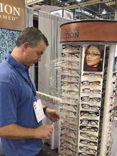 Davis Vision - The Davis Vision Exclusive Collection stands tall at the #VisionExpo in Las Vegas, NV. #EyecareReframed #DavisVision