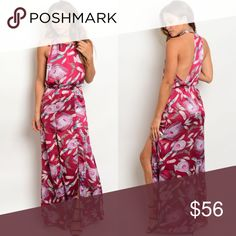 """New stunning dress . Brand new from my boutique  . Model is wearing the exact product  . Fabric content: 100% polyester                Any questions? Don't hesitate to ask  ✨ Use the """"buy now"""" or """"add to bundle"""" feature to purchase ✨ Dresses Maxi"""