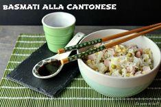 Basmati alla cantonese,ricetta etnica perfetta anche come piatto freddo unico per l'estate ma sempre buonissimo e piacerà a tutta la famiglia