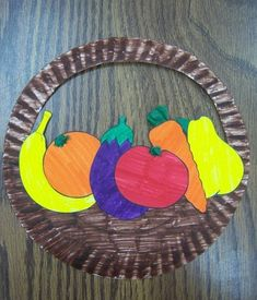 November Crafts for Kids : Fun Fall Preschool Crafts- That Kids' Craft SiteNovember Preschool Crafts for Kids - ThatKidsCraftSite.Fruit Basket Art Preschool 43 Ideas For Basket Art Preschool 43 Ideas For 2019 fruit basketPretty Daycare Crafts, Sunday School Crafts, Toddler Crafts, Kids Fruit Crafts, Fruit Art Kids, Toddler Games, Fall Crafts, Arts And Crafts, Vegetable Crafts