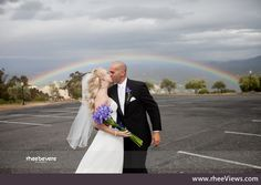 If there's a rainbow on my wedding day I'll probably just die of happiness