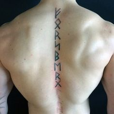 Viking Rune Tattoo : Image of Viking Rune tattoo Viking rune tattoo is a modern way for the people in this day and age to communicate with Norse gods. Rune tattoo also reminds the inked man of their Viking spirit and Norse belief. Viking Rune Tattoo, Viking Compass Tattoo, Viking Tattoos For Men, Viking Tattoo Sleeve, Norse Tattoo, Viking Runes, Wiccan Tattoos, Inca Tattoo, Tattoo Symbols
