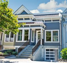 A stunning renovation designed by San Francisco based RE+Habit Design, 3835 Cesar Chavez is a classic Victorian home that has been beautifully transformed into a modern and contemporary work of art. This beautiful home offers the best in design elements, complemented with the highest quality craftsmanship and materials, and sets the standard for high-end luxury renovations. Spanning three levels and boasting over 3200 square feet,