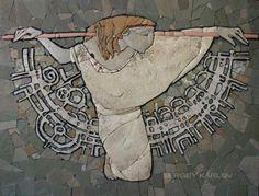 Сергей Карлов. Станковая мозаика - Ярмарка Мастеров - ручная работа, handmade