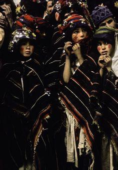 Amazigh girls, Ait Hdidou, Morocco,1986