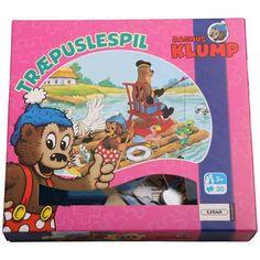 Rasmus Klump - Træpuslespil med 20 brikker