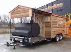 Now this is what we call a travel trailer. If you take this bad boy camping you may never want to come home. ‪#‎BBQ‬ ‪#‎Smoker‬ ‪#‎Camping‬