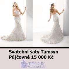 Svatební šaty Tamsyn. Salon Maggie, Vinohradská 81 wwww.1-svatebni-saty.cz