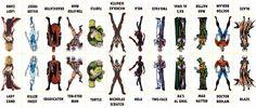 D.C. Villains Character Sheet 034