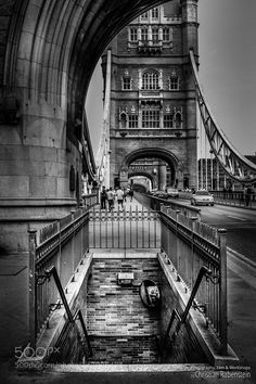 Popular on 500px : Down The Tower Bridge London by ChristianRabenstein
