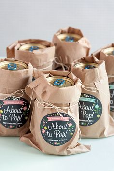 3 Easy Baby Shower Favor Ideas | Evermine Blog
