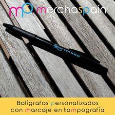 La #tampografía es una de las técnicas más empleadas para la #personalización de #bolígrafos.  www.merchaspain.com  #merchnadising #Mallorca #inmobiliaria #RealEstate #pens #promotionalgifts #bolígrafospersonalizados #promopens #reclamo #publicidad