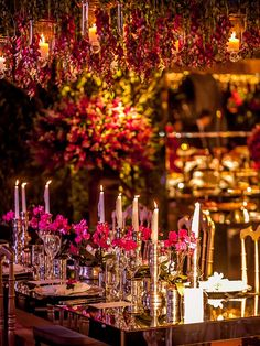 Decoração de Casamento com Pink, Marsala e Verde   Revista iCasei