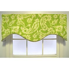 Possible valance for kitchen window?