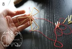 Blogg - Handante Triangles, Handicraft, Diy And Crafts, Diys, Projects To Try, Manualidades, Heavens, Craft, Bricolage