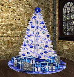 Whitechristmas Tree Decorations Ideas