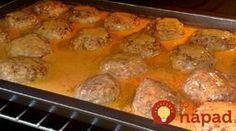 Šťavnaté fašírky na plechu s fantastickou omáčkou: Pridajte do mäsa aj jednu špeciálnu prísadu a keď ochutnáte výsledok, inak ich už robiť nebudete!