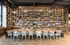 Pano BROT #architecture #interiordesign #interiors #café #coffeeshop