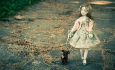 Wendy and Toto | Romantic Wonders Dolls