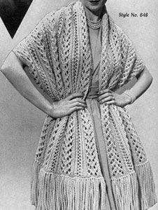 Quick Knit Stole Pattern
