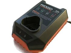 Ridgid 12 Volt Lithium Ion Battery Charger R86045 (140328001) Retail Packaged * Click image to review more details.