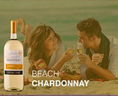 If you're lounging by the beach, bring our crisp Chardonnay.