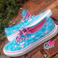 Hello Kitty VANS  Hello Kitty VANS  Size 7  ✌️Good, clean Preloved Condition ✌ NO TRADE Firm unless BUNDLED !! Vans Shoes Sneakers
