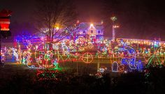 the best christmas lights in an around philadelphia - Drive Through Christmas Lights Pa