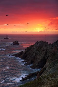 Pointe du Raz, Finistère, Bretagne, France