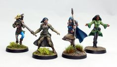 It's time to feature another competitor in the Cleric, Fighter, Wizard, Rogue Miniature Painting Tourney. Today's Ensemble Shot is submitted by last years champion, DGS Games! You can find them here: http://www.dgsgames.com/ Make sure you vote during AetherCon all weekend long to have your say on who is the best. The more you vote, the more chances you have to win! www.aethercon.com