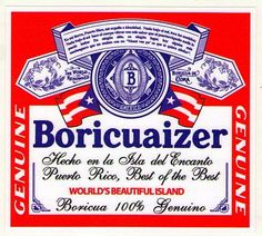 "PUERTO RICO ""BORICUAIZER"" CAR STICKER"