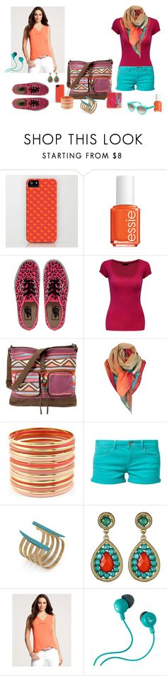 """""""Get ready for summer"""" by hagar-arnon-elbaz ❤ liked on Polyvore featuring Essie, Vans, Jane Norman, Billabong, Paul Smith, Fantasy Jewelry Box, Mavi, Kelly Wearstler, Kate Spade and Ann Taylor"""