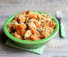 Quinoa aux légumes d'automne rôti »