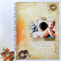 Created by Linda for a Crafty Daze class. Using mixed media such as Ranger Distress inks, Glimmer Mists, gold acrylic paint and texture paste.