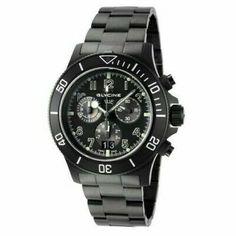 "Glycine Men 42mm Combat Sub Sapphire Chrono ""SWISS MADE"" Triple Black Watch 1001 | eBay All Black Watches, Watches For Men, Glycine Combat, Triple Black, Casio Watch, Chronograph, Rolex Watches, Sapphire, Quartz"