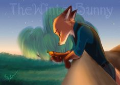 Nick and Judy by Source It appeared on screen for less than five full minutes, but it played a huge part in the Zootopia story line -- in Judy' Zootopia Fanfiction, Zootopia Fanart, Zootopia Comic, Disney Films, Disney Characters, Zootopia Nick And Judy, Nick Wilde, Judy Hopps, Furry Drawing