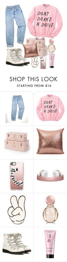 """""""TheSoundofMusic!"""" by rjizzle ❤ liked on Polyvore featuring Casetify, Anya Hindmarch, Bulgari, Jimmy Choo and Yves Saint Laurent"""