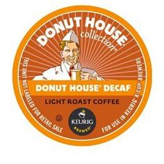 DONUT HOUSE DECAF K CUP COFFEE 48 COUNT * Click image for more details. Note: It's an affiliate link to Amazon.