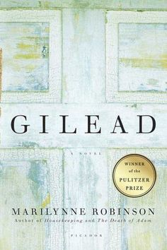 Gilead, Marilynne Robinson. This is a gorgeous, touching, gentle novel. Read it.
