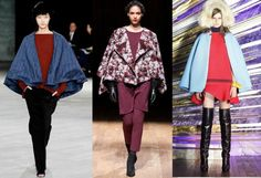 """NYFW Breaking Trends Fall 2014: Capes - Accessories Magazine. Ok, no jokes about the """"Caped Crusader."""""""