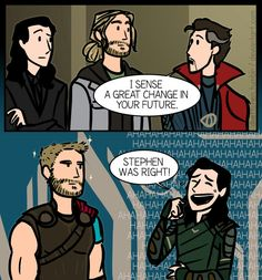 The great change for Thor