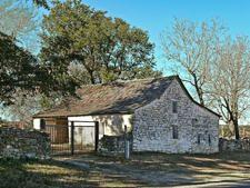 Stone barn  Hohenberger Farmstead Texas